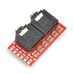 f-audioOutputs - audio extender board for c-uGSM and h-nanoGSM shields