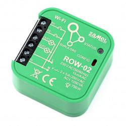 Zamel Supla ROW-02 - 2x przekaźnik 230V WiFi - aplikacja Android / iOS