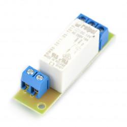 Płytka przekaźników 16A x 1 do GSM/LAN kontrolera - 12V
