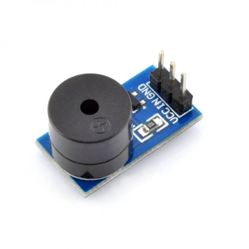 Active buzzer module with generator