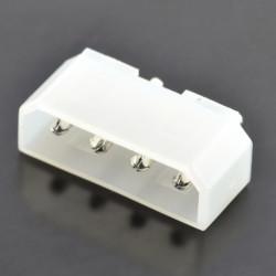 Wtyk do druku prosty 4-pinowy raster 5,08 mm