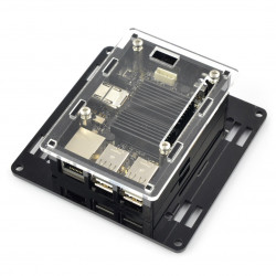 Odroid C2 case VESA - black-clear