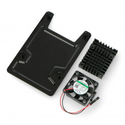 Case for Asus Tinker Board - open with fan