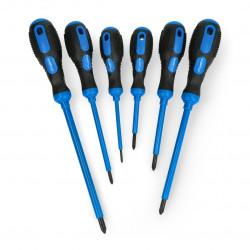 Magnetic screwdriver set Lanberg NT-0801 - 6pcs