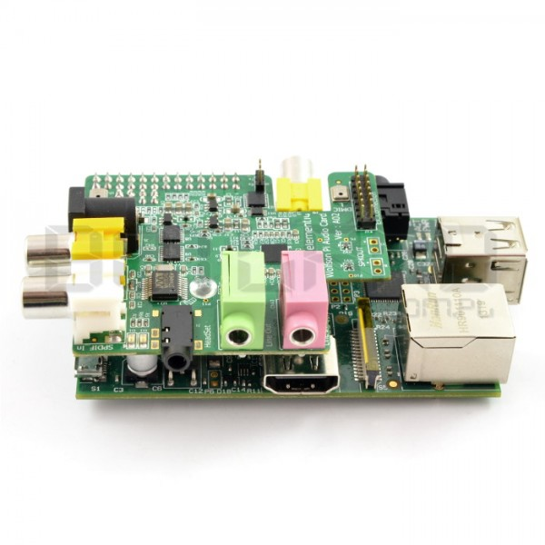Wolfson Pi Audio Card - karta dźwiękowa do Raspberry Pi B/B+