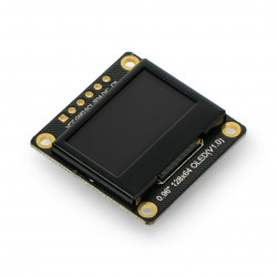 Monochrome OLED graphic display 0,96'' 128x64px I2C/SPI - DFRobot DFR0650