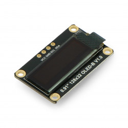 Monochrome OLED graphic display 0,91'' 128x32px I2C - DFRobot DFR0648