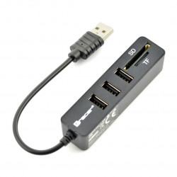 Card Reader All-in-one Tracer + Hub USB CH4