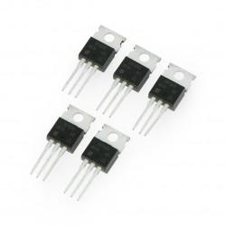 Transistor P-MOSFET IRF9640 - THT - 5szt