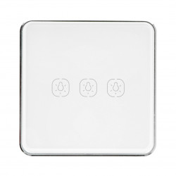 Tuya LS3S - remote, touch switch - ZigBee - 3-channels