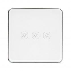 Tuya LS3 - touch wall switch - ZigBee - 3-channels