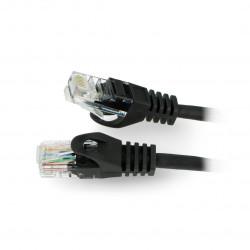 Lanberg Ethernet Patchcord UTP 5e 50m - black