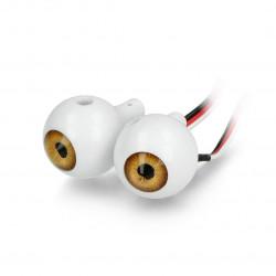 Ohbot - zestaw świecących oczu