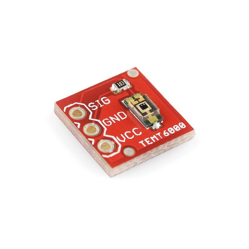 TEMT6000 - analogowy czujnik natężenia światła otoczenia - moduł SparkFun