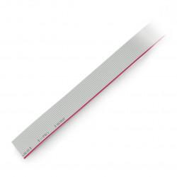 Przewód taśmowy 14 żył szaryIDC raster 1,27mm - rolka 30,5m