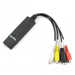 EasyCap Capture Video Converter USB 2.0 - konwerter audio/wideo