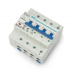 Tuya RTX CB63 4P 63A WiFi disconnector