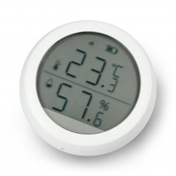 Czujnik temperatury i wilgotności ZigBee LCD TH2 Tuya Smart Life