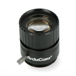 CS Mount lens 25mm with manual focus - for Raspberry Pi HQ camera - ArduCam LN041