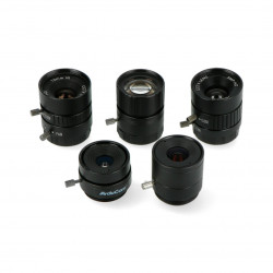 Set of CS Mount lenses 6-25mm - for Raspberry Pi camera - 5pcs - ArduCam LK004
