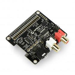 HiFiBerry DAC+ ADC Pro - sound card for Raspberry Pi 4B/3B+/3B
