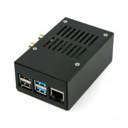 Obudowa do HiFiBerry DAC+ RCA/ADC i Raspberry Pi 4B czarna