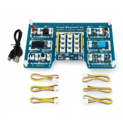 Grove Beginner Kit with 10 Sensors and Seeeduino Lotus