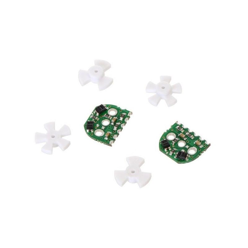 Zestaw enkoderów optycznych do micro silników Pololu - wersja 3,3V - 2 szt. - Pololu 2591