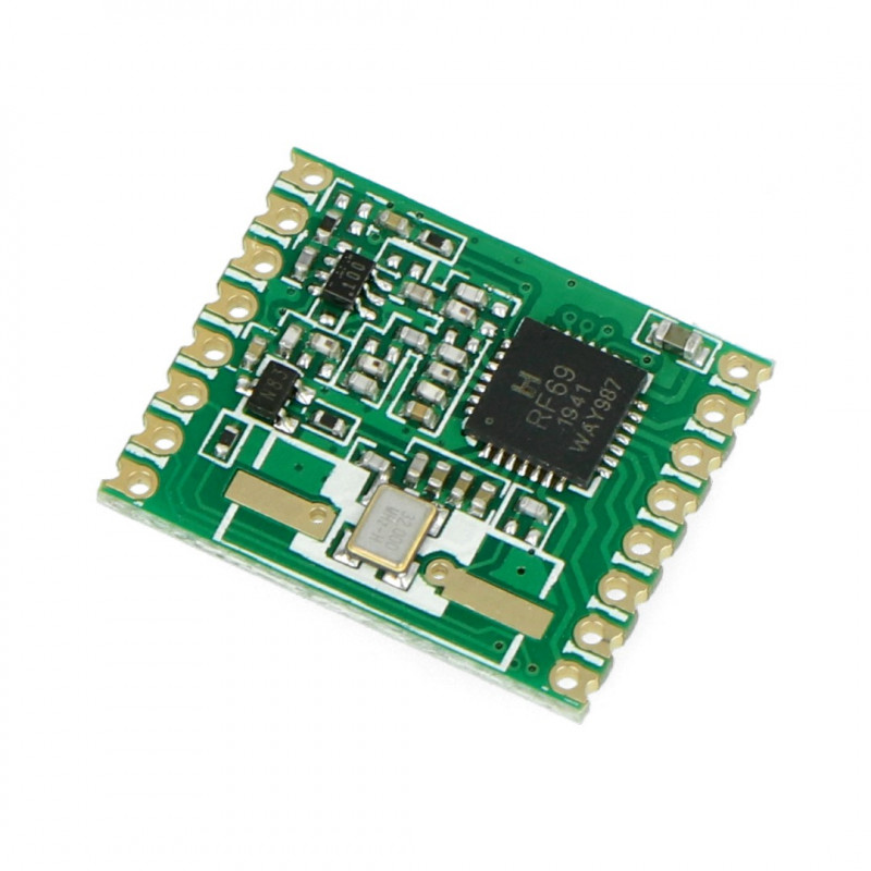 Radio module - RFM69HW-868S 868MHz - SMD transceiver*