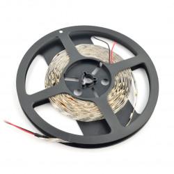 Strip LED SMD5050 IP20 0,6W, 30 LED/m, 10mm, cold white - 5m