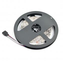 Pasek LED SMD5050 IP44 7,2W, 30 diod/m, 10mm, RGB - 5m