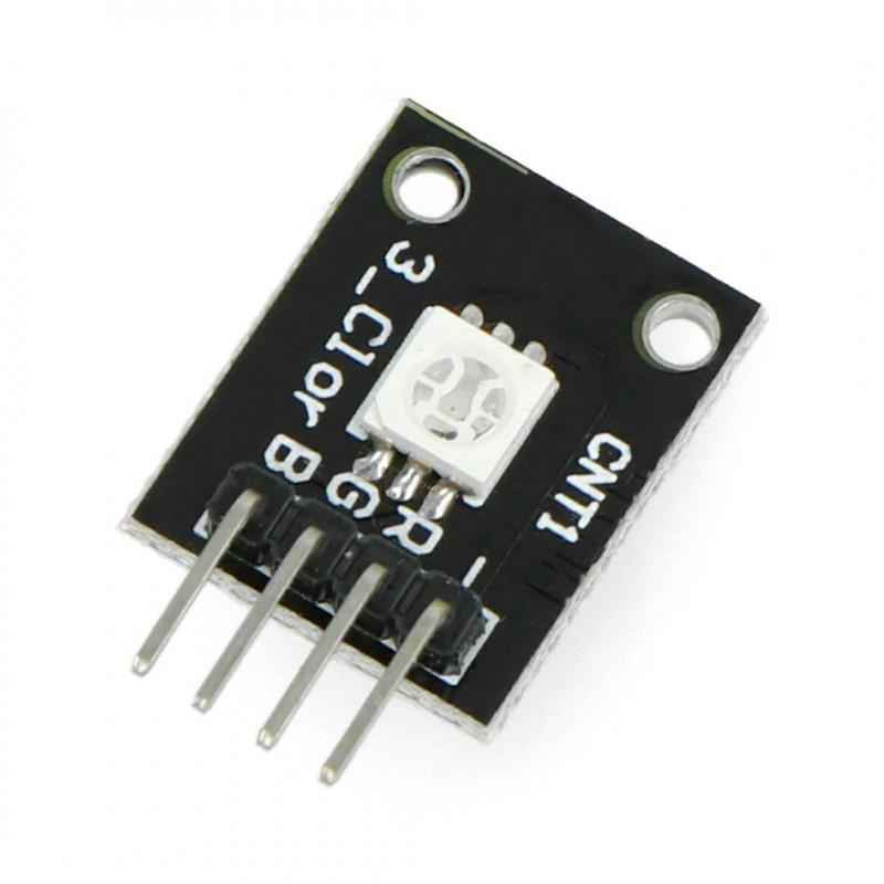 Moduł dioda LED RGB 5050 wspólna katoda