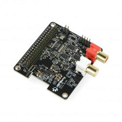 HiFiBerry DAC2 HD - sound card for Raspberry Pi 4B/3B+/3B