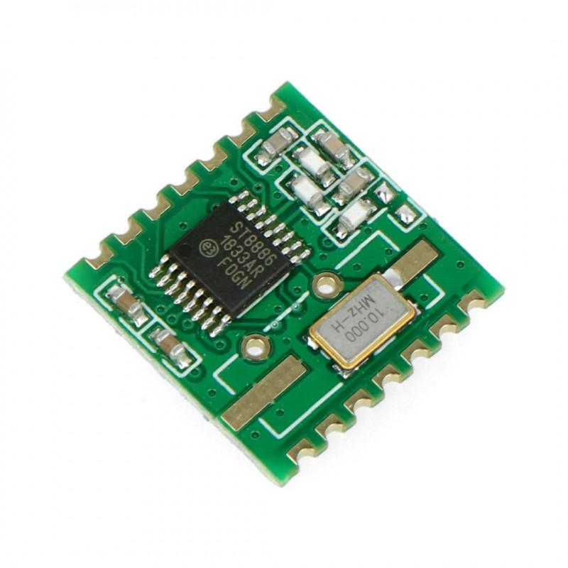 Moduł radiowy - RFM12B-868S2 868MHz - transceiver SMD
