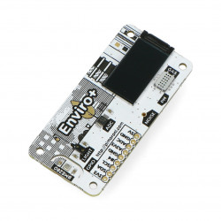 Enviro pHAT - temperature, humidity, pressure, light, gas, ADC sensor with microphone - HAT for Raspberry Pi