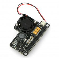 UCTRONICS Mini PoE Hat - PoE module for Raspberry Pi 4B/3B+/3B + fan