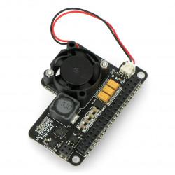 UCTRONICS Mini PoE Hat - moduł zasilania PoE do Raspberry Pi 4B/3B+/3B + wentylator