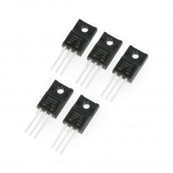 N-MOSFET tranzistor STP10NK60ZFP - THT - 5pcs