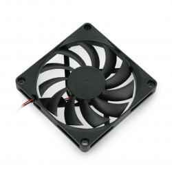 Fan 5V 80x80x10,8mm 2 wires