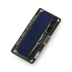 Wyświetlacz OLED 2,23'' 128x32px monochromatyczny ze złączem STEMMA QT/Qwiic - dla Raspberry Pi - Adafruit 4567