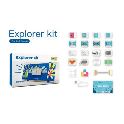 Grove Zero Explorer Kit - set of magnetically connected elements - 17 modules