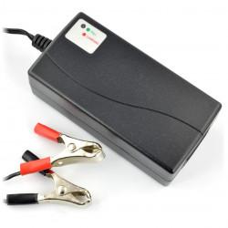Ładowarka do akumulatorów żelowych 12V / 0,8A / 7-14Ah