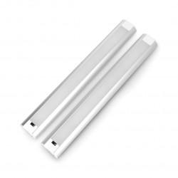 Listwa LED CGB5W podszafkowa z włącznikiem ruchowym, IP20, 30 LED - 30cm z zasilaczem