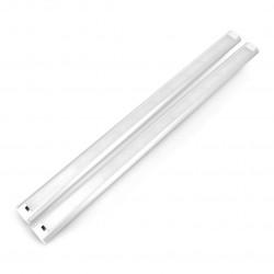 Listwa LED CGB9W podszafkowa z włącznikiem ruchowym, IP20, 66 LED - 60cm z zasilaczem