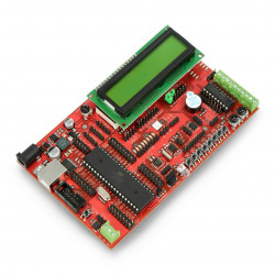 Zestaw uruchomieniowy EvB 5.1 z procesorem ATMega32 + kurs BASCOM