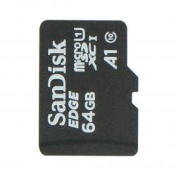 Karta pamięci SanDisk microSD 64GB 80MB/s klasa 10 + system Raspbian NOOBs dla Raspberry Pi 4B/3B+/3B/2B