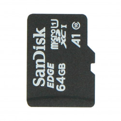 SanDisk memory card microSD 64GB class 10 + system Raspbian NOOBs for Raspberry Pi 4B/3B+/3B/2B