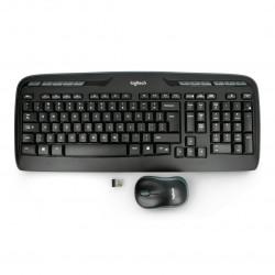 Wireless set Logitech MK330 - keyboard + mouse - black