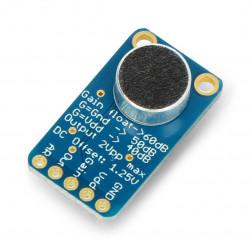 Adafruit - mikrofon elektretowy z wzmacniaczem MAX9814