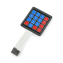 Self-adhesive membrane keyboard 4x4 - 16 keys